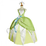 The Princess and the Frog Disney Princess Tiana Dance Dress Cosplay Costume