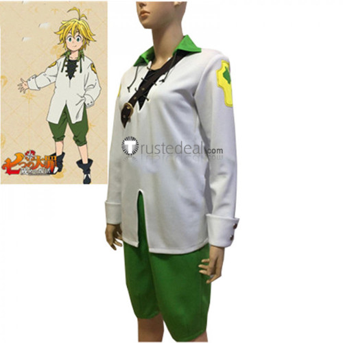The Seven Deadly Sins The Dragon's Sin of Wrath Meliodas Cosplay Costume