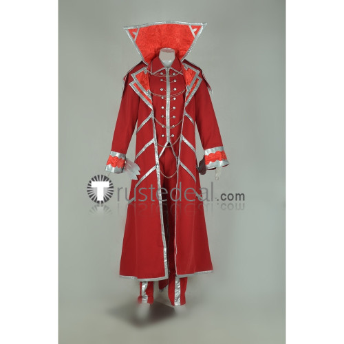 League Of Legends LOL Vladimir Red Cosplay Costume