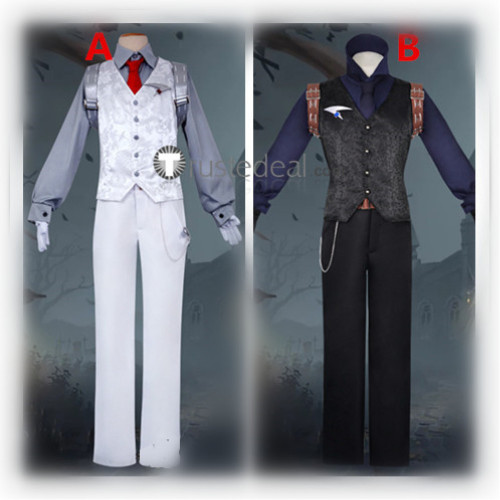 Identity V Wu Chang White Guard Black Guard Cosplay Costumes 2