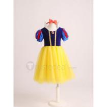 Snow White and the Seven Dwarfs Disney Princess Snow White Kids Children Cosplay Costume