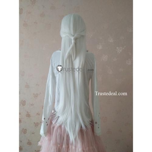 Voltron Legendary Defender Princess Allura Long White Cosplay Wig 100cm