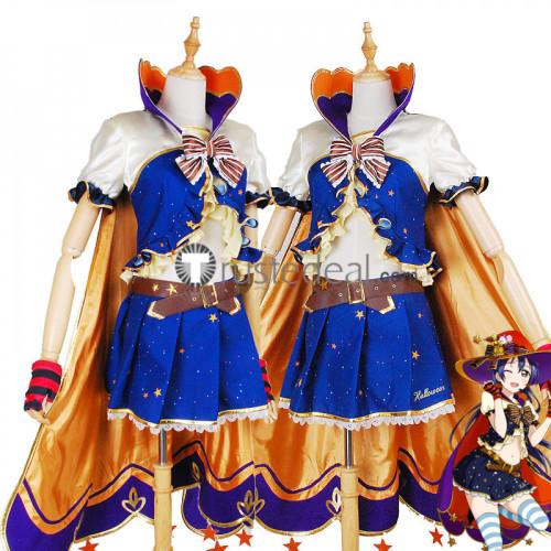 Love Live Halloween Awakening Umi Nico Eli Kotori Honoka Hanayo Cosplay Costume