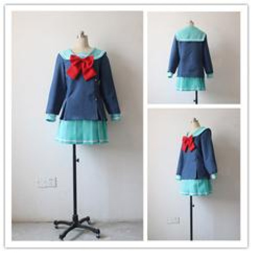 The Devil Is A Part Timer Chiho Sasaki Sailor Suit School Cosplay Costume