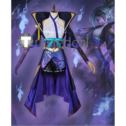 League of Legends LOL Spirit Blossom Vayne Cosplay Costume