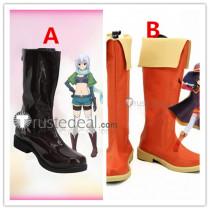 KonoSuba God's Blessing on this Wonderful World Megumin Eris Cosplay Boots Shoes