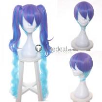 Vocaloid Hatsune Miku Infinite HOLiC Purple Blue Ponytails Cosplay Wig