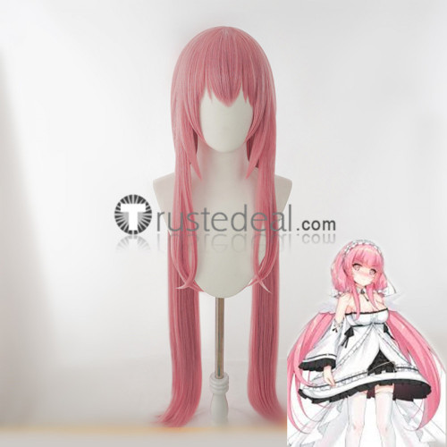 Azur Lane Yuudachi Fubuki Deutschland Perseus Blue Black Pink Cosplay Wigs