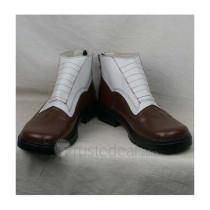K Project Kusanagi Izumo White Coffee Cosplay Shoes Boots