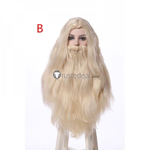 Harry Potter Rubeus Hagrid Albus Dumbledore Bellatrix Lestrange Cosplay Wigs