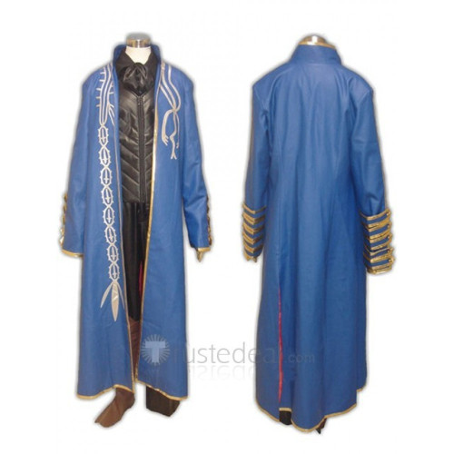 Devil May Cry III Vergil Cosplay Costume