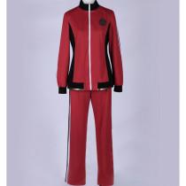 Touken Ranbu Online Horikawa Kunihiro Red Suit Cosplay Costume 1