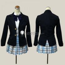 Koe no Katachi A Silent Voice Shoko Nishimiya School Cosplay Costume Cardigan