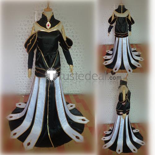 Code Geass C.C. Black Queen Cosplay Costume
