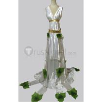 League of Legends Muse Sona Stylish White Dress Cosplay Costume