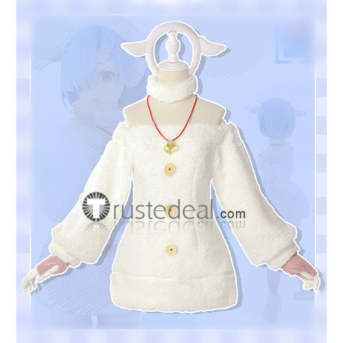 Re Zero Starting Life In Another World Rem Lamb Sheep Cosplay Costume