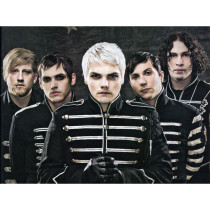 My Chemical Romance Black Parade Military Jacket Cosplay Costume
