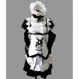 Kaichou wa Maid Sama Misaki Ayuzawa Maid Black White Cosplay Costume 2