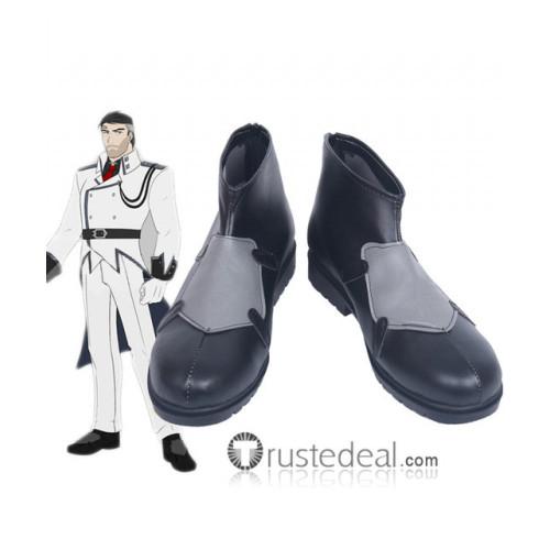 RWBY Volume 4 General James Ironwood Cosplay Shoes