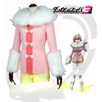 Danganronpa3 The end of Hope's Peak Academy Ruruka Ando Pink Cosplay Costume