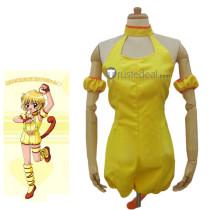 Tokyo Mew Mew Pudding Bu-Ling Huang Yellow Cosplay Costume