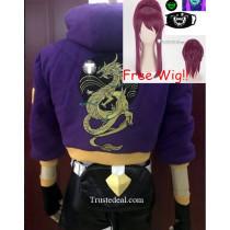 League of Legends KDA Skins Akali KaiSa Ahri Evelynn Cosplay Costumes Shoes