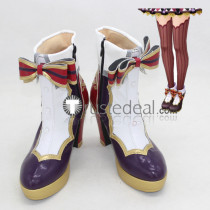 The Idolmaster Cinderella Girls Uzuki Shimamura Cosplay Boots Shoes 1