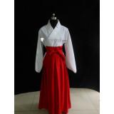 Steins Gate Luka Urushibara White Red Kimono Cosplay Costume