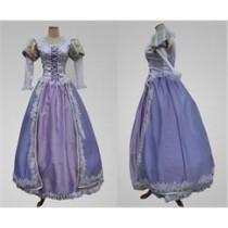 Tangled Rapunzel Disney Princess Purple Cosplay Costume