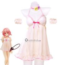 To LOVEru Darkness Momo Belia Deviluke Figure Pajamas Cosplay Costume