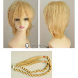Magi The Labyrinth Of Magic Titus Alexius Blonde Ponytails Cosplay Wig