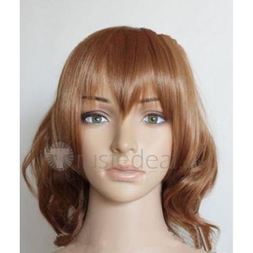 Another Sakuragi Yukari Brown Cosplay Wig