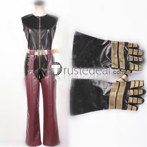 The King of Fighters Kula Diamond Light Fuchsia Cosplay Costume 2