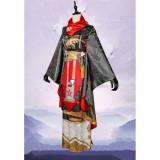 Onmyoji Abe no Seimei QingMing Kimono Cosplay Costume