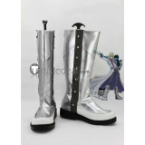 YuGiOh Jack Atlas Silver Cosplay Boots Shoes