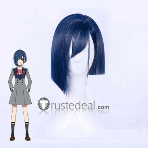 Darling in the Franxx Ichigo Code 015 Blue Cosplay Wig