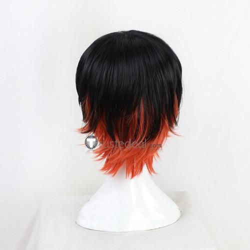 Kimetsu no Yaiba Demon Slayer Tanjiro Nezuko Kamado Genderbend Ponytail Cosplay Wigs