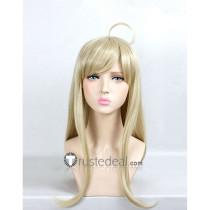 Danganronpa V3 Killing Harmony Kaede Akamatsu Light Blonde Cosplay Wigs