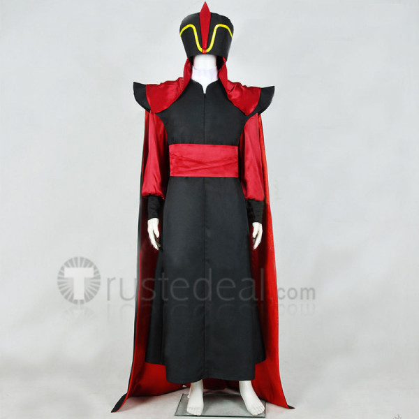 Disney Aladdin Jafar Cosplay Costume