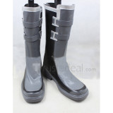 Sword Art Online GGO Kirito Black Cosplay Boots Shoes