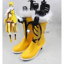 Pokemon Gijinka Jolteon Yellow Cosplay Shoes Boots