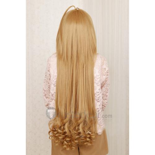 Toradora Taiga Aisaka Brown Blonde Cosplay Wig