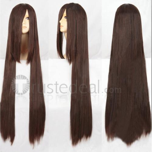 Vampire Knight Kuran Yuki Long Brown Cosplay Wig