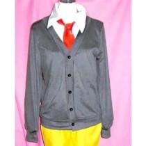 Maid Sama Hinata Shintani Gray Sweater Cosplay Costume