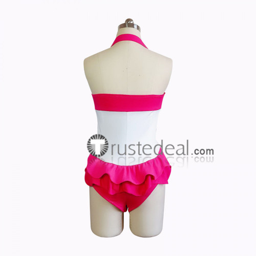 My Little Pony Friendship Is Magic Pinkie Pie Pink Swimsuit Cosplay Costume
