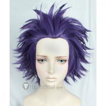 Boku no Hero Academia My Hero Academia Hitoshi Shinsou Spicky Purple Cosplay Wig