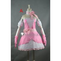 Hetalia Axis Powers France Francis Bonnefoy Magical Girl Pink Cosplay Costumes