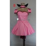 Tokyo Mew Mew Ichigo Momomiya Pink Cosplay Costumes