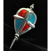 Blue Exorcist Brooch Cosplay Accessories