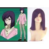 Gundam Seed Tieria Erde Purple Cosplay Wig